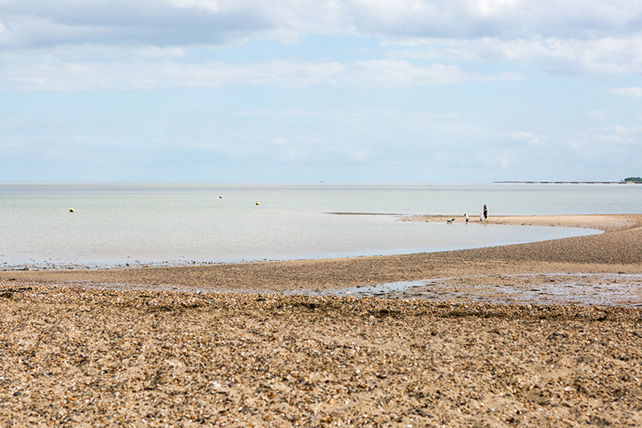 West Mersea Holiday Park beach
