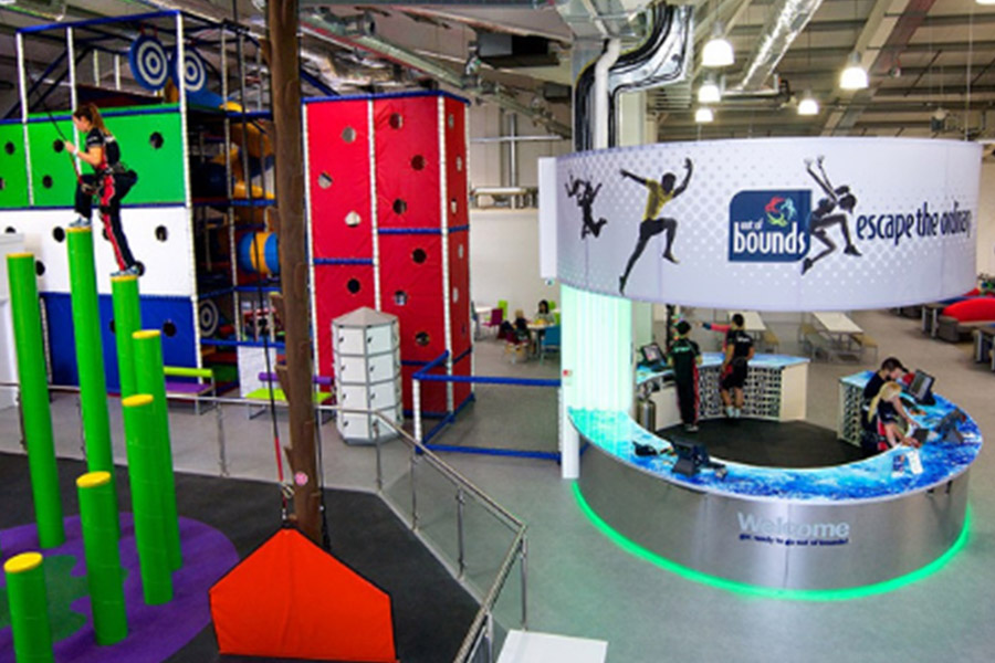 indoor climbing centre