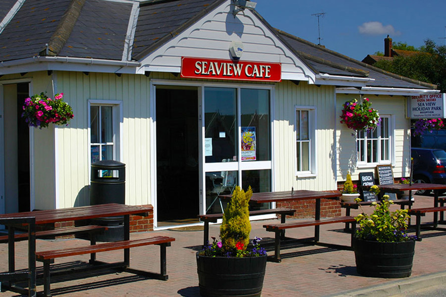 West Mersea Holiday Park cafe